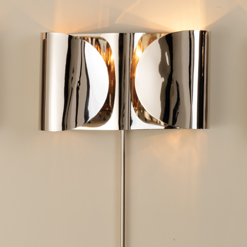 Global Views - Folded Sconce - 9.91591