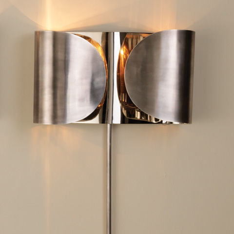 Global Views - Folded Sconce - 9.91592