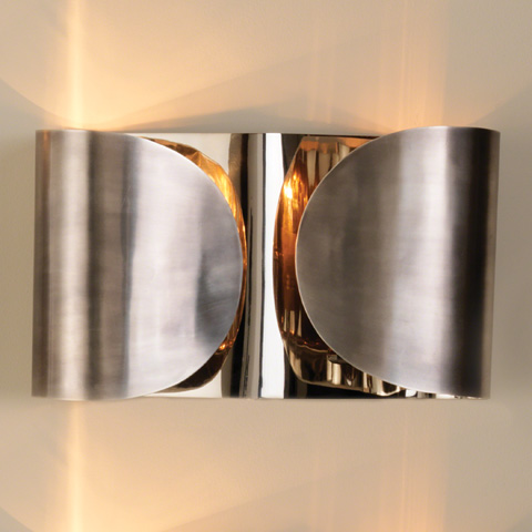 Global Views - Hardwired Folded Sconce - 9.91592-HW