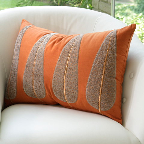 Global Views - Copper Tree Pillow - 9.91750