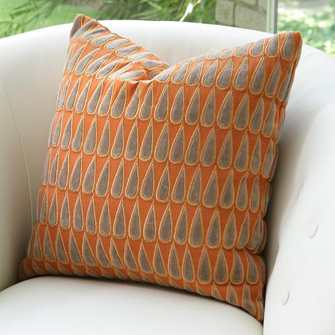 Global Views - Copper Rain Drops Pillow - 9.91751