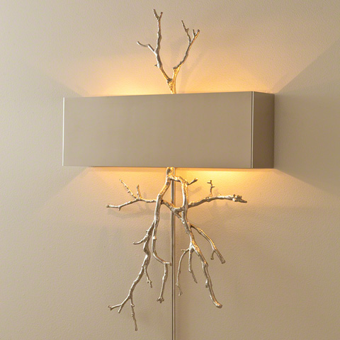 Global Views - Twig Electrified Wall Sconce - 9.91798