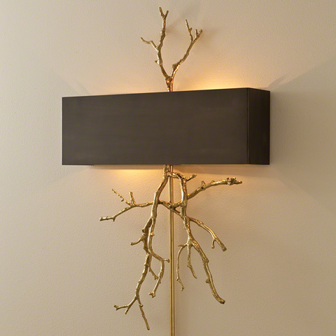Global Views - Twig Electrified Wall Sconce - 9.91800