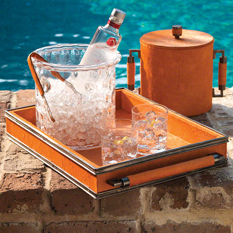 Global Views - Double Handle Serving Tray - 9.91861