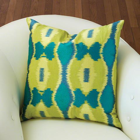 Global Views - Ikat Pillow - 9.92018