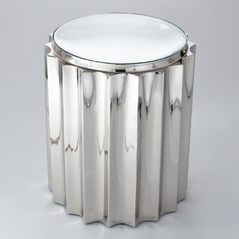 Global Views - Fluted Column Table - 9.92133