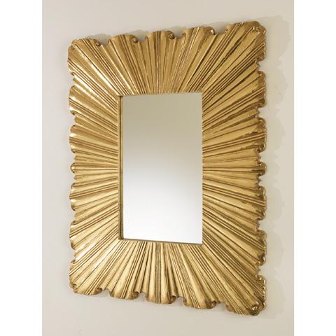 Global Views - Linen Fold Mirror - 9.92167