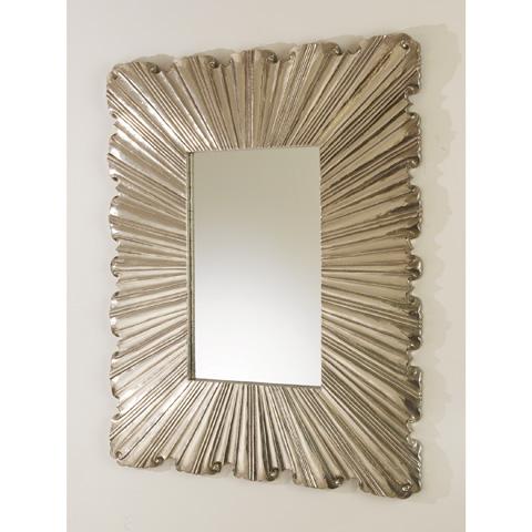 Global Views - Linen Fold Mirror - 9.92168