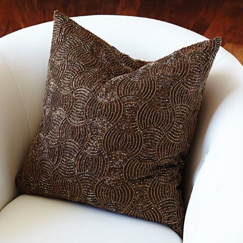 Global Views - Encrusted Pillow - 9.92303