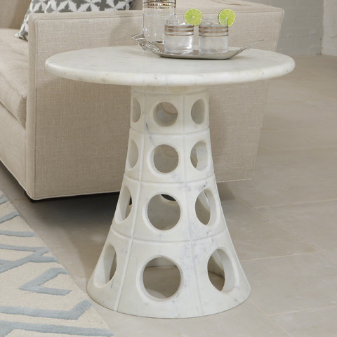 Global Views - Taper Circle Side Table - 9.92388