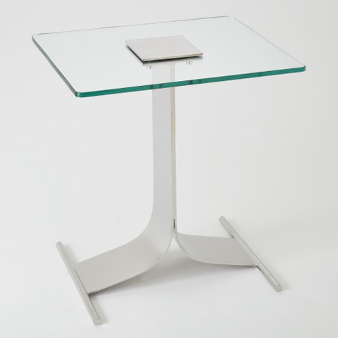 Global Views - Double Leg Side Table - 9.92441