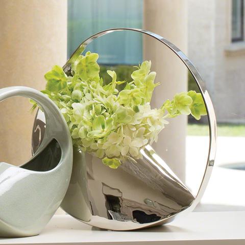 Global Views - Cleopatra Metal Vase - 9.92447