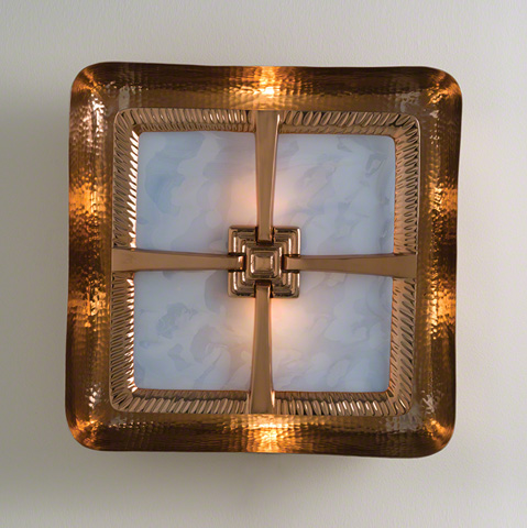 Global Views - Hardwired Maze Wall Sconce - 9.92473-HW