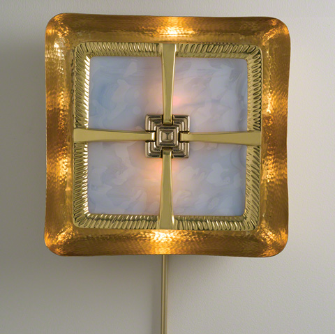 Global Views - Maze Wall Sconce - 9.92474