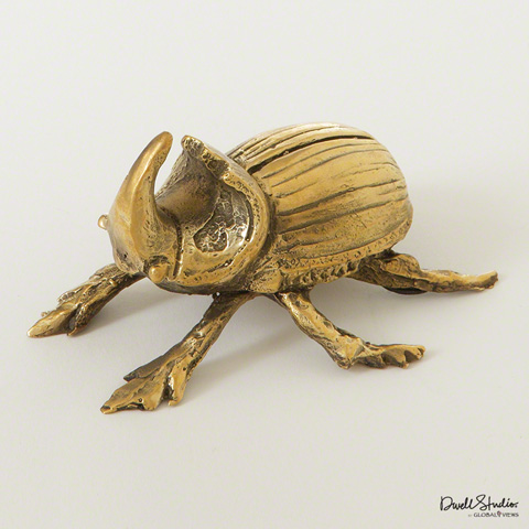 Global Views - Beetle Paperweight - D8.80121
