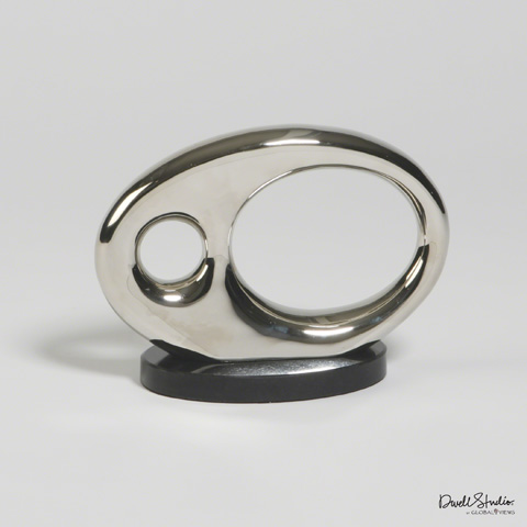 Global Views - Oval Metal Objet - D9.90012
