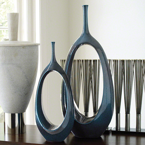 Global Views - Open Oval Ring Vase - 1.10051