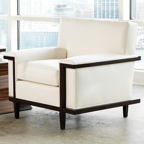 Global Views - Lucy Chair - 2416-MUSLIN