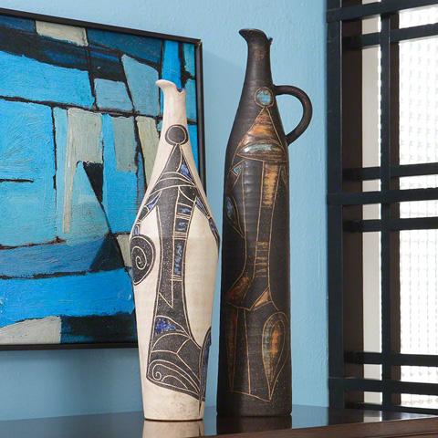 Global Views - Day Warrior Vase - 3.31119