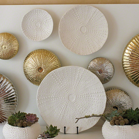 Global Views - Ceramic Urchin Platter - 3.31152