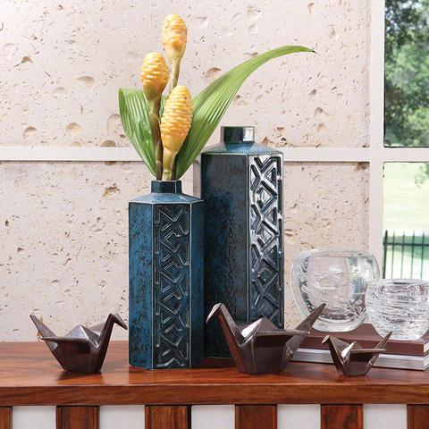 Global Views - Bezel Vase - 3.31215