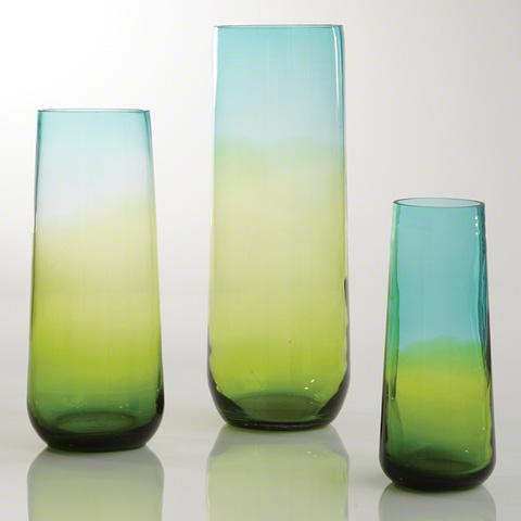 Global Views - Ombre Taper Vase - 8.81621