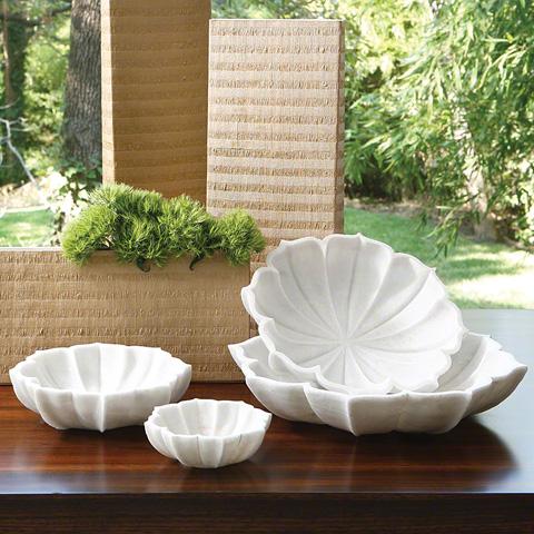 Global Views - Marble Petal Bowl - 9.91792