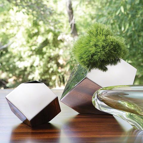 Global Views - Knock Your Block Vase - 9.91826