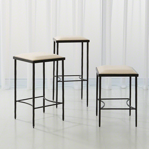 Global Views - Hammered Counter Stool - 9.92338