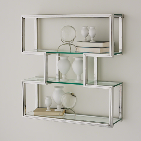 Global Views - One Up Wall Shelf - 9.92484