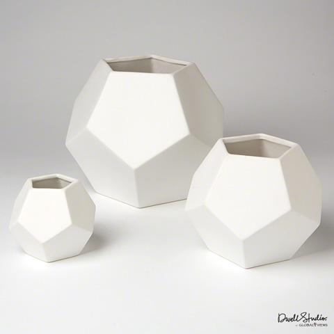Global Views - Faceted Vase - D8.80045