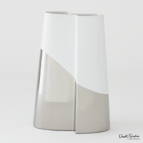 Global Views - Metallic Dipped Tall Vase - D8.80197