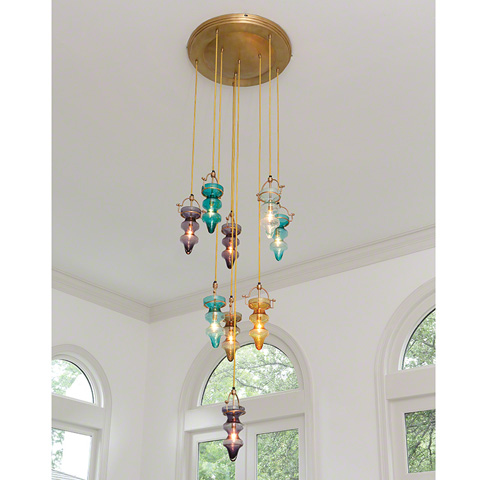 Global Views - Tea Light Chandelier - JB9.90030