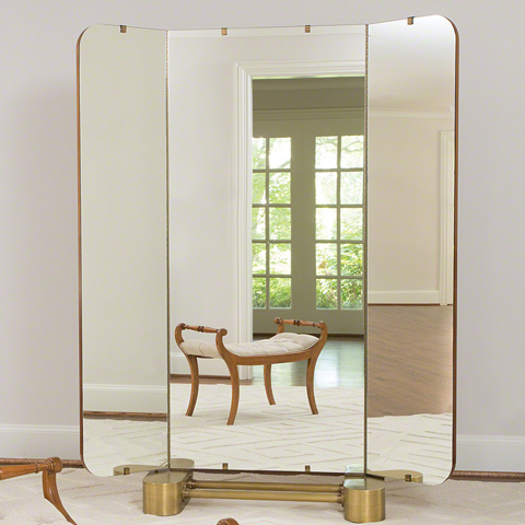 Global Views - Sunburst Dressing Mirror - 2522