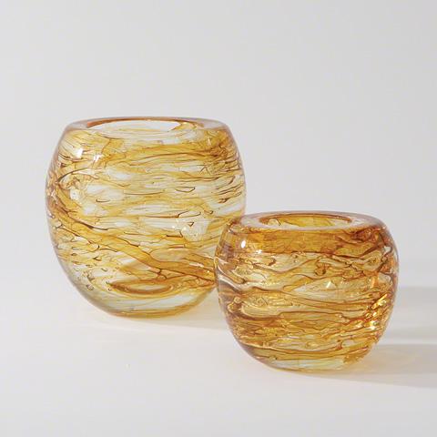 Global Views - Phyllo Vase - 3.31183