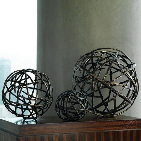 Global Views - Strap Sphere - 8.81365