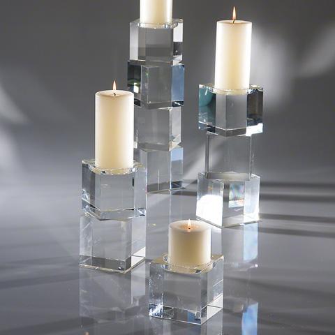 Global Views - Escalier Pillar Candleholder - 8.81380