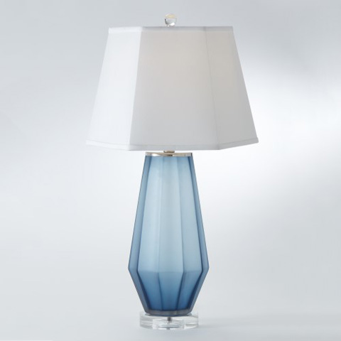 Global Views - Fluted Urn Frosted Lamp - 8.82300