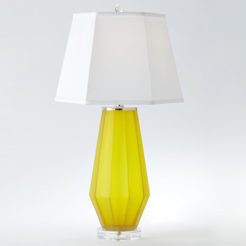 Global Views - Fluted Urn Frosted Lamp - 8.82306