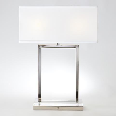 Global Views - Mini Crystal Slab Lamp - 8.82307