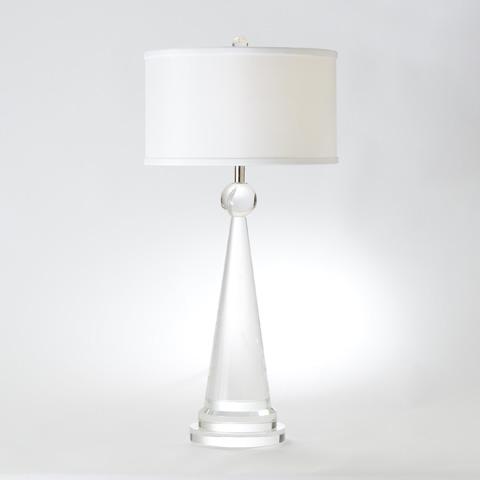 Global Views - Crystal Cone Obelisk Lamp - 8.82310