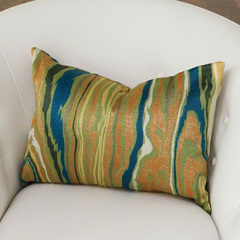 Global Views - Wood Grain Pillow - 9.92558