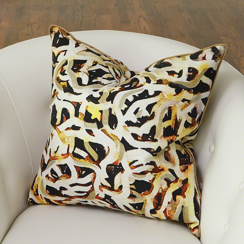 Global Views - Chains Pillow - 9.92559