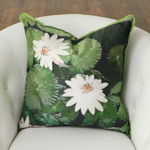 Global Views - Lily Pad Pillow - 9.92561