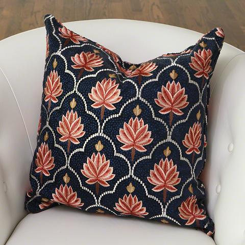 Global Views - Pink Lotus Pillow - 9.92564