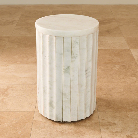 Global Views - Marble Column Table - 9.92648