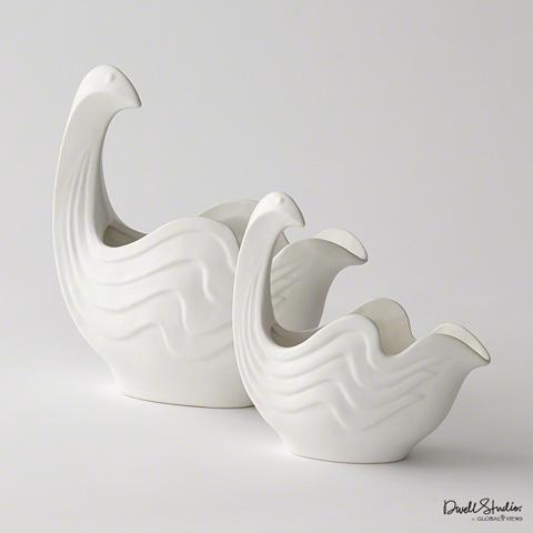 Global Views - Bird Bowl Female - D8.80176