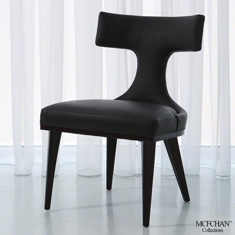 Global Views - Anvil Back Dining Chair - MC-2510-MUSLIN