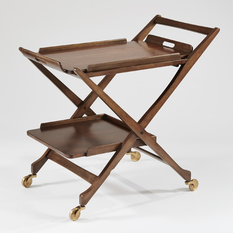 Image of Hemingway Bar Cart with Removable Top Tray