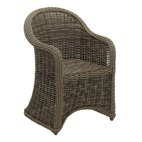 Gloster - Havana Large Dining Chair with Arms - 2600
